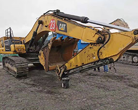 履带式小型挖掘机