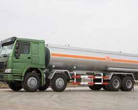 铝合金油罐车