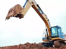 履带式防爆挖掘机施工案例