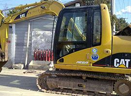 履带式反铲挖掘机施工案例