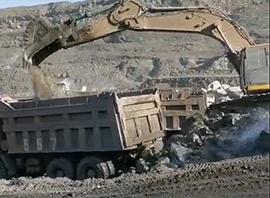 二手挖掘机施工视频展示