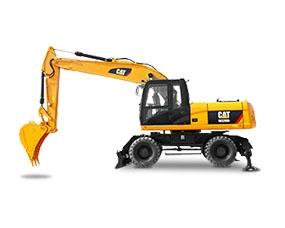 轮式二手挖掘机