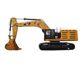 中型履带式挖掘机