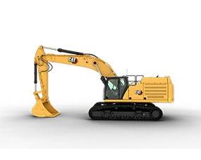 大型履带式挖掘机